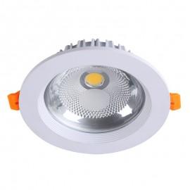 DL002-7W/C Empotrado de LED para techo, ilumina horizontalmente de arriba hacia abajo