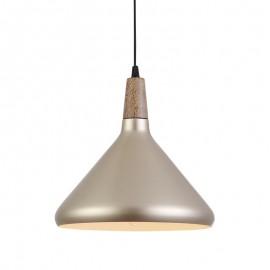 C218/ORM Lampara colgante color champange, ilumina tus espacios dándoles un toque moderno