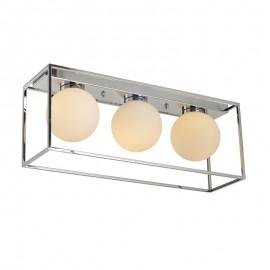 C2035-3/CR Su estructura en acero y globos de cristal la hacen perfecta y elegante para las mejores estancias