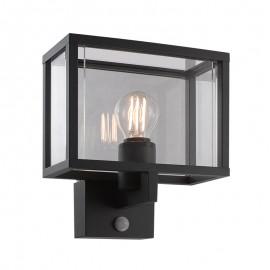 8374S-E27/GF Lámpara con sensor de movimiento, brinda la seguridad y luminosidad adecuada en el momento oportuno