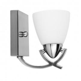 A2028-1/S Lámpara para muro en acabado satinado perfecta con cualquier decoración