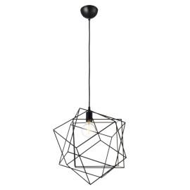 C082/NE Lámpara fabricada de aluminio en color negro, es ligera a la vista pero aporta gran estilo a los espacios.