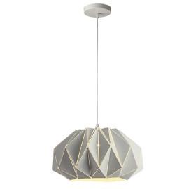 C222/BL Lámpara colgante color blanca, esta luminaría de figuras geométricas hace que luzca fabuloso cualquier espacio.