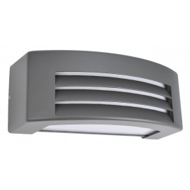 5464/GF Lámpara de aluminio en color grafito, la perfecta iluminación en exteriores