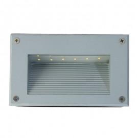 2220-LED Luminaria LED para empotrar, es la lampara ideal para alumbrar los pasos