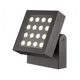 3021-LED Reflector LED dirigible, excelente para iluminar exteriores