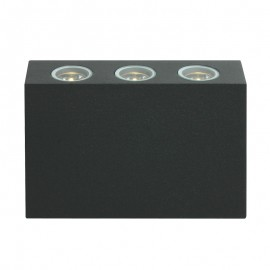 8420-LED/GF Luminaria de LED para muro, ilumina los muros de manera elegante