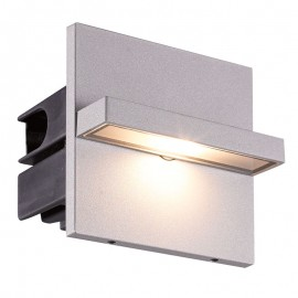 9020-LED Luminaria LED dirigible para iluminar pasillos o escalones