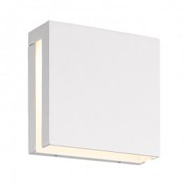 7812-LED/BL Lampara Led color blanca para muros, excelente para colocarla en exteriores