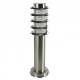8113-450 Mini poste para exteriores, fabricado en acero inoxidable lo hace combinable con todo