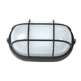 5021/N Lámpara negra de techo o muro de aluminio, sencillo y practico