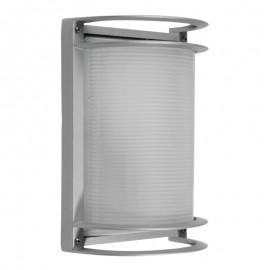 5192/G Luminaria de aluminio, su terminado gris la vuelve discreta y elegante