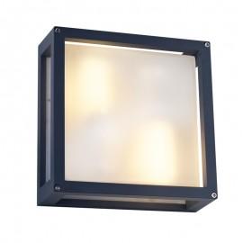 5466/GF Luminario cuadrado de aluminio, ideal para iluminar exteriores con gran estilo