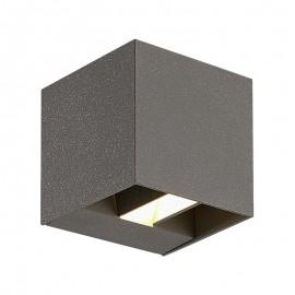 9620-LED Lámpara LED gris con angulo de luz ajustable ideal para jugar con la iluminación