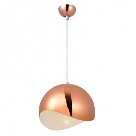 V2046/OR Lámpara colgante de aluminio en oro rosado, uno de los colores mas solicitados en este temporada