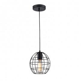 C080/NE Lámpara de rejilla colgante, su estilo unico hace a esta lampara perfecta para los amantes de las tendencias