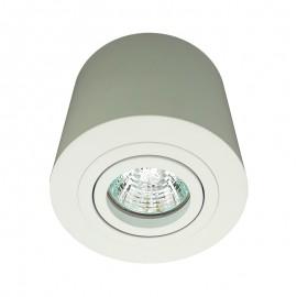 7615-GU10/BL Luminario de LED de sobreponer para techo, ideal para iluminar espacios determinados
