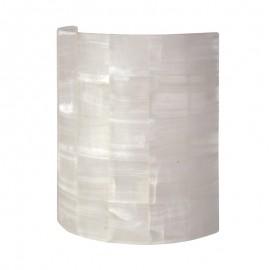 OXC200PQ/B Lampara de interior para muro, su material en piedra natural ambienta y decora los mejores espacios