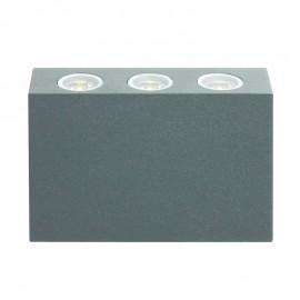 8420-LED/GR Luminaria LED la iluminación perfecta, ideal para iluminación arquitectónica